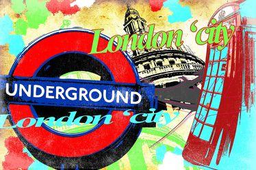 London Panorama Pop art  018