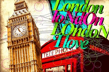 London Panorama Pop art  019