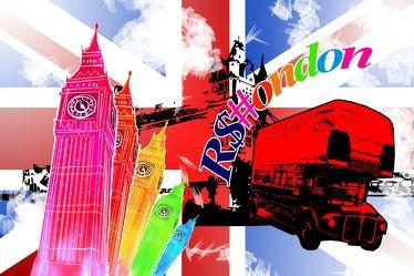 London Panorama Pop art  048