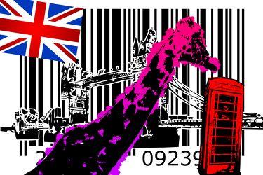 London Panorama Pop art 082