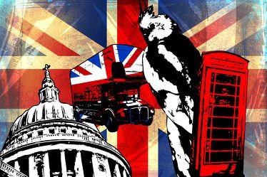 London Panorama Pop art 094
