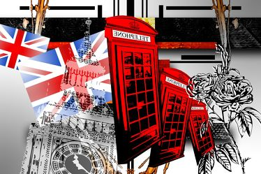 London Panorama Pop art