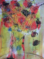 Bild mit Abstrakte Malerei
