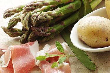Bild mit Lebensmittel, Essen, Küchenbild, Food, Food Lifestyle, Küchenbilder, KITCHEN, Küche, Esszimmer, kochen, schinken, spargel