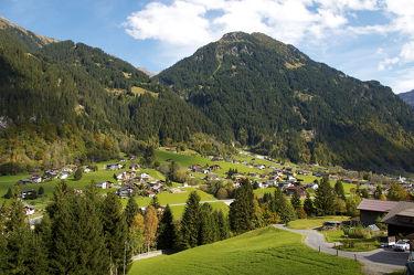 Dörfer in den österreichischen Bergen