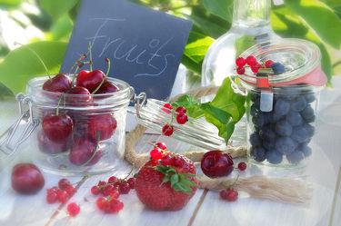 Frischer Früchte Sommer