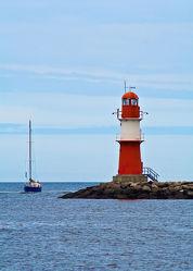 Bild mit Leuchttürme, Ostsee, Meer, See, Norddeutschland, Leuchtturm, Warnemünde