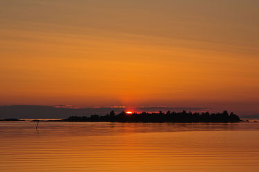 Sonnenuntergang am See 2