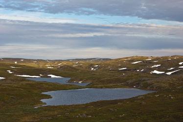 Landschaft in der Tundra