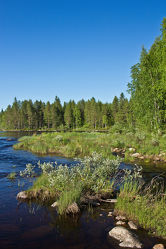 Lentuankoski in Finnland