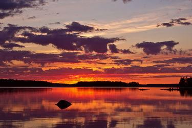 Stein am Lentuasee, Finnland 3