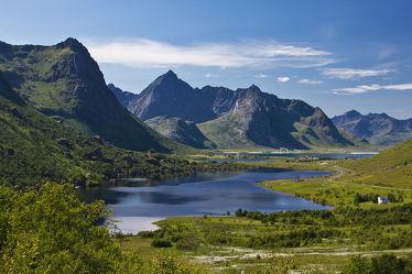 Fjordlandschaft Lofoten
