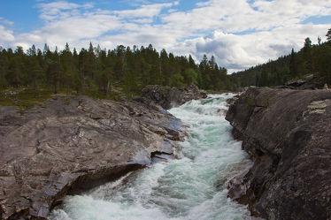 Fluss im Norden Norwegens
