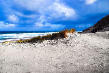 Bild mit Natur, Wasser, Wolken, Gewässer, Meere, Strände, Wellen, Sonnenuntergang, Urlaub, Sommer, Sonnenaufgang, Schiffe, Frankreich, Strand, Beach