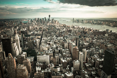 New York from above (vintage)