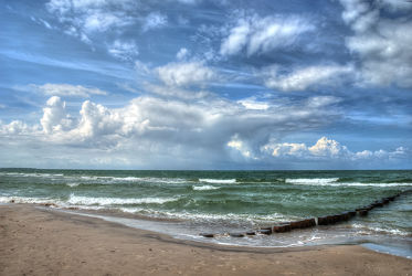 Bild mit Gewässer, Strände, Sand, Urlaub, Strand, Meerblick, Ostsee, Meer