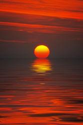 Bild mit Sonnenuntergang, Sonnenaufgang, Sunset, landscape