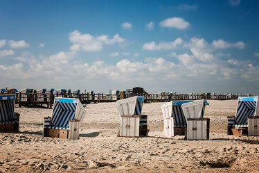Bild mit Landschaften,Strände,Strand,Sandstrand,Strandkörbe,Nordsee