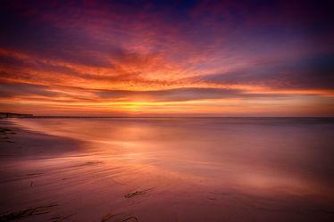 Bild mit Gewässer,Meere,Strände,Sonnenuntergang,Urlaub,Sonnenaufgang,Strand,Ostsee,Meer,Sonnenuntergänge,Am Meer,ozean