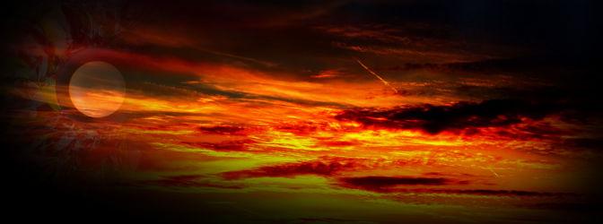 Bild mit Himmel