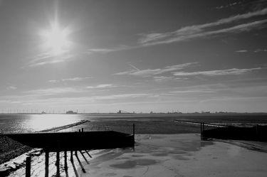 Sonne an der Nordsee