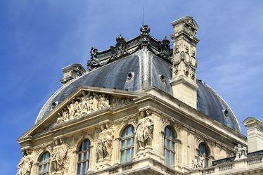 Bild mit Architektur, Frankreich, Sehenswürdigkeit, romantik, City, Sehenswürdigkeiten, Paris, Straße, Stadtleben, Grossstadt, Museum, Pariser, Paris pompös, louvre, Palais du Louvre