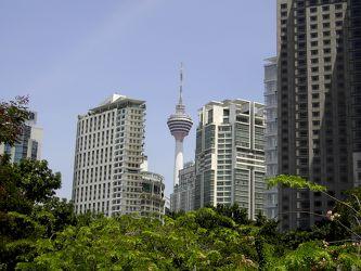 Bild mit Gebäude, Sehenswürdigkeit, Stadt, Reisefotografie, Hauptstadt, hochhaus, wolkenkratzer, malaysia, asien