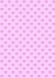 Bild mit Rosa, Herzen, Hintergrund, Kinderzimmer, Muster, Tapete, Hintergründe, pink, Herz, zart, tapetenmuster, kinderzimmertapete