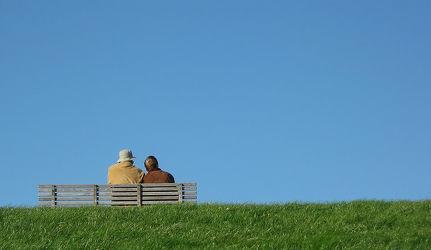 Bild mit Ostsee, Nordsee, romantik, Bank, art, Bänke, Paar, Liebe, Love, Pärchen, Foto