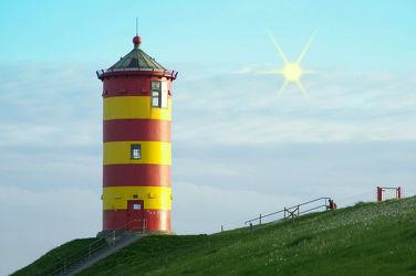 Bild mit Meere, Strände, Leuchttürme, Strand, Meerblick, Ostsee, Meer, Nordsee, Leuchtturm