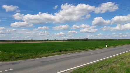 Landstraße in Niedersachsen