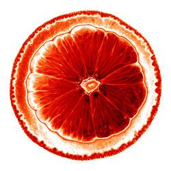 Orangenscheibe - Orange - Abstrakt