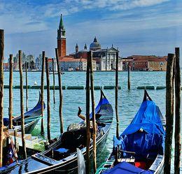 Venedig - Gondeln