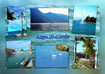 Collage - Gardasee