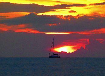 Bild mit Natur,Wasser,Landschaften,Seen,Strände,Sonnenuntergang,Sonnenaufgang,Strand,Ostsee,Meer,See,germany,burning sky,brennender Himmel