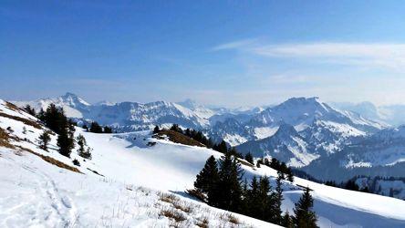 Winteridyll im Bregenzer Wald