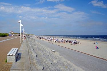 Strandpromenade von Stadt Norderney