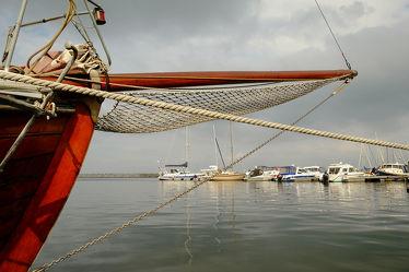 Boote im Barther Hafen