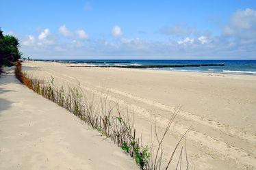 Bild mit Himmel,Wolken,Sand,Strand,Meer,Dünen,Strand / Meer,Ostseeküste,Schutz