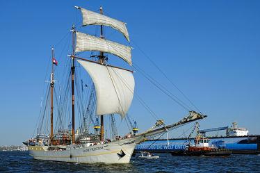 Bild mit Schiffe, Schiff, boot, Boote, Segelschiff, Segelschiffe, Segel, Elbe, Hamburg, Hansestadt