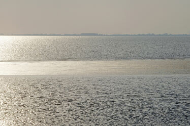 Bild mit Gewässer, Sonne, Meer, Ruhe, Stille, GENUSS, Abendlicht, Seenebel, Idylle, Dunst
