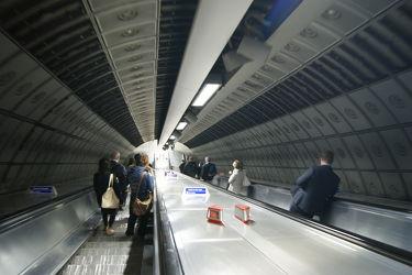Londoner Subway Rolltreppen