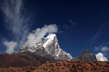 Bild mit Landschaften, Berge, Hügel, Schnee, Alpen, Landschaft, berg, Frost, Gebirge, mount Everest