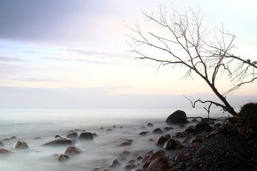 Bild mit Natur, Wasser, Landschaften, Gewässer, Meere, Wellen, Nebel, Ostsee, Meer, Landschaft, ozean