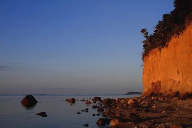 Bild mit Natur, Landschaften, Gewässer, Meere, Sonnenuntergang, Sonnenaufgang, Ostsee, Meer, Landschaft, See, ozean, Rügen