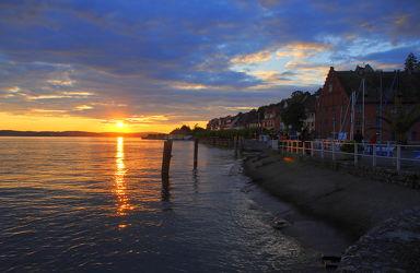 Bild mit Wasser,Gewässer,Küsten und Ufer,Strände,Sonnenuntergang,Sonnenaufgang,Strand,Meer,Küste,Am Meer,Kliff