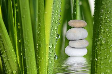 Bild mit Steine, Meditation, Ruhe, Entspannung, Buddha, Wellness, Erholung, steinpyramide, steinstapel