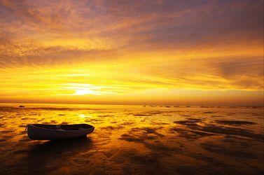 Bild mit Natur, Gewässer, Sonnenuntergang, Sonnenaufgang, Ostsee, Meer, Sonnenschein, See, Naturaufnahmen, ozean