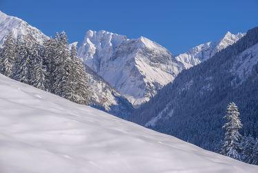 Bild mit Natur, Landschaften, Berge, Bäume, Winter, Schnee, Wälder, Wald, Baum, Landschaft, Weihnachten, winterlandschaft, Winterlandschaften, Allgäu, Winterbilder, berg, Kälte, Frost, Gebirge, Winterbild, winterwunder