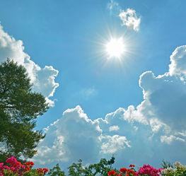 Bild mit Natur, Himmel, Wolken, Sonne, Wolkenhimmel, Wolkengebilde, Wolken am Himmel, Sonnenschein
